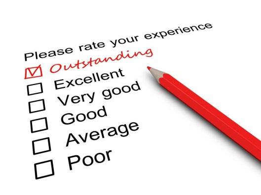 "What are the elements that create an ""Outstanding"" customer experience?"